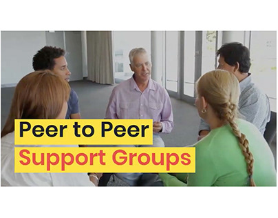 Peer to Peer Support Group Social Media Video