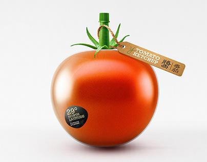 吾洋·番茄酱 Tomato Ketchup Packaging