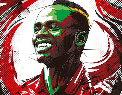 Premier League All Stars | Vector Portrait