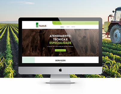 Taurus Agronegócios Website