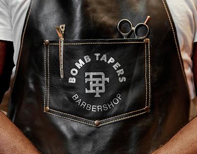 Bomb Tapers Barbershop   Brand Identity - Web Design