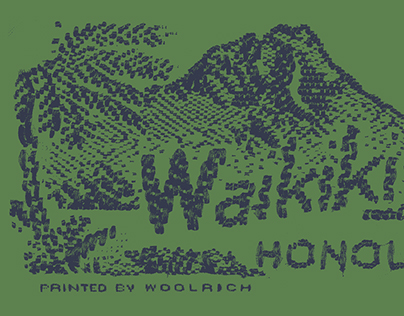 WOOLRICH plays ALOHA SHIRTS