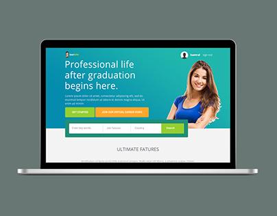 Best Jobs Web Template