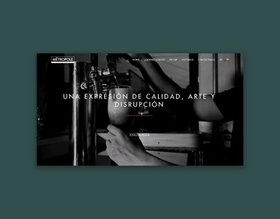 Website Design | Metropole Beer Lab