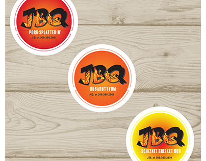 JBQ Stickers/Labels