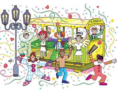 Carnival Rio antigo