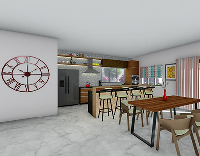 Modern House Interior Design & Visualization
