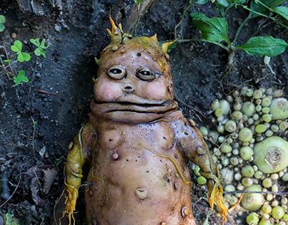 Potato Sculpture