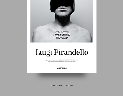 Pirandello Book Design
