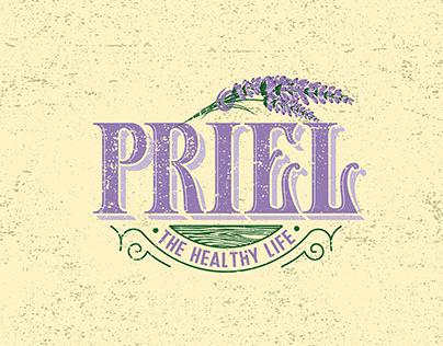 Priel logo design