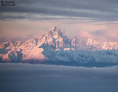 Foggy morning in Turin