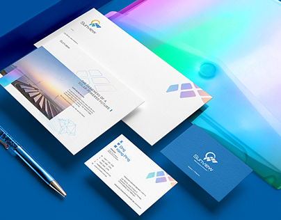 Sunview l Visual Identity System