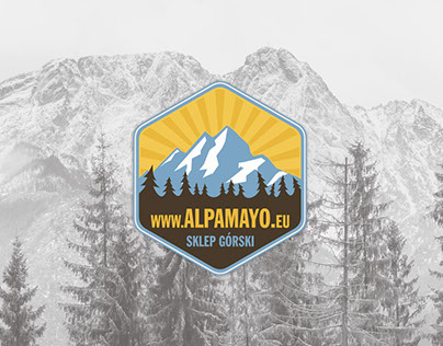Stickers for mountain store