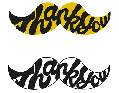 Movember Thank You Logo Pitch