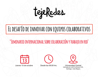 Evento tejeRedes Chile