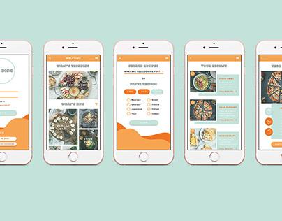 The Dish - App UI.
