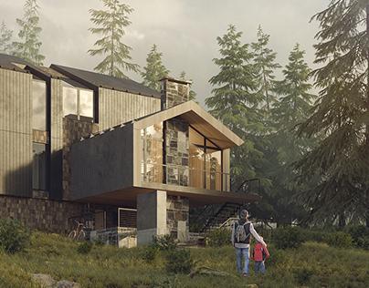 LIVING HOUSE RECONSTRUCTION / РЕКОНСТРУКЦИЯ ЖИЛОГО ДОМА