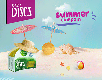 cheesy discs summer campain