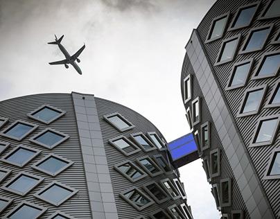 Amsterdam, Halfweg - The Blue Bridge in Sugar City