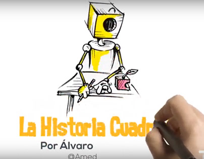 """Cuentos cortos en video. """"La Historia Cuadrada"""""""
