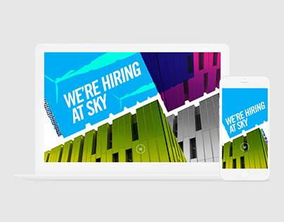 Schawk! We are hiring at Sky - Landing Page