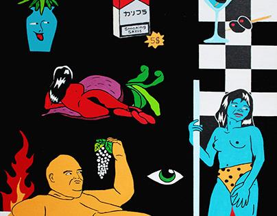 Friday- Karifurava painting 2020