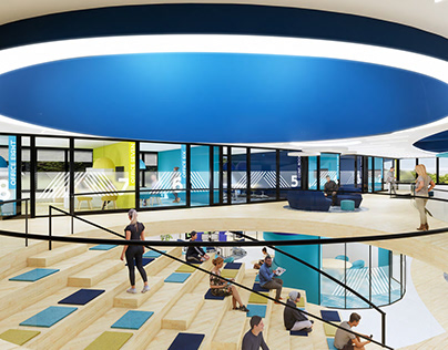 POW-WOW Workspaces • Interior Design