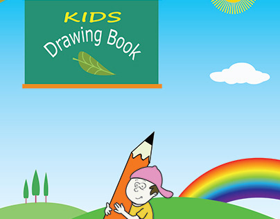 Kids Drawing Book Design