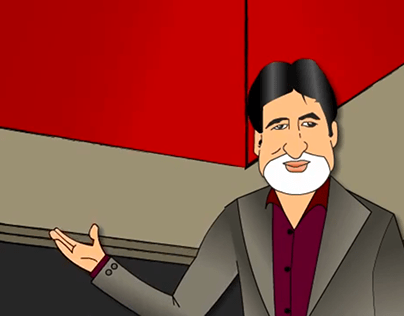Big B Amitab Bachchan Cartoon