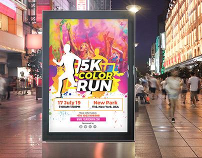 Color Run Poster