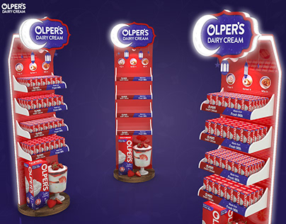 Olpers Cream FSU Display for Ramadan