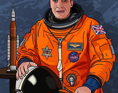 An Anxious Astronaut