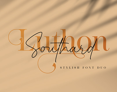 Luthon Southard Font Duo