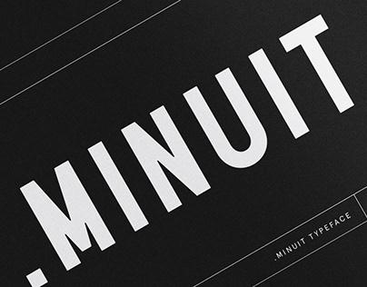MINUIT - Typeface