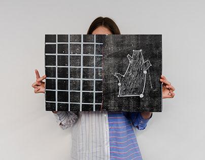 Linocut/woodcut book