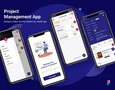 Task Management App Design, UX/UI