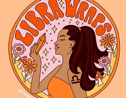 Libra Wraps Logo
