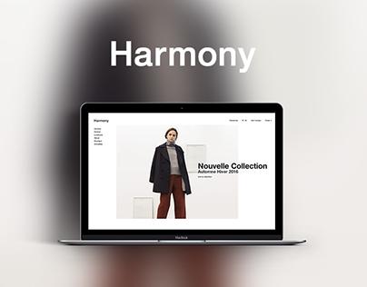 Harmony - Webdesign ecommerce