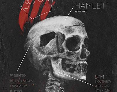 Hamlet Poster: Loyola University Players