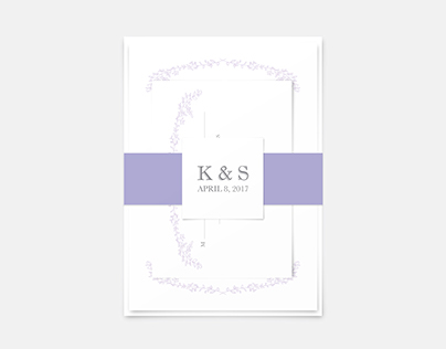 Wedding Invitation: Katie + Sam
