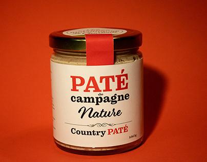 Packaging Paté de campagne/projet fictif