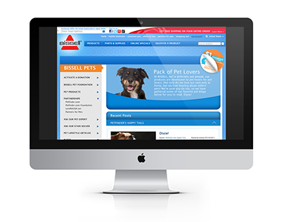 Bissell Pets Online