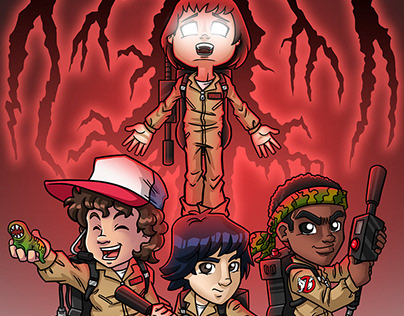 Stranger Things II - Ghostbusters