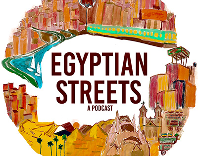 The Egyptian Streets Podcast Branding
