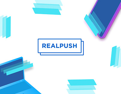 Realpush Sign in/Sign up redesign