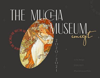 Mucha Museum in Prague - UX/UI Concept