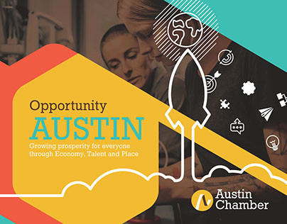 Austin Chamber of Commerce Brochure Concepts