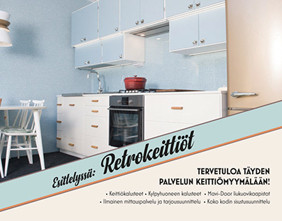 Brochure / Retro Kitchens