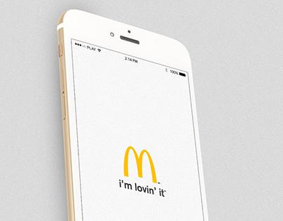 McDonald´s app - Mexico