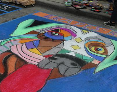 Denver Chalk Art